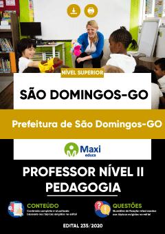 Concurso Prefeitura de São Domingos GO 2020