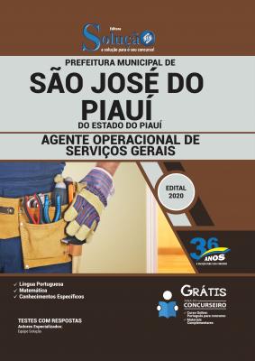 Concurso Prefeitura de São José do Piauí PI