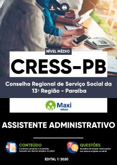 Concurso CRESS PB
