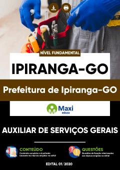 Concurso Prefeitura de Ipiranga