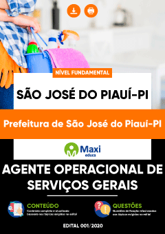 Concurso São José do Piauí 2020