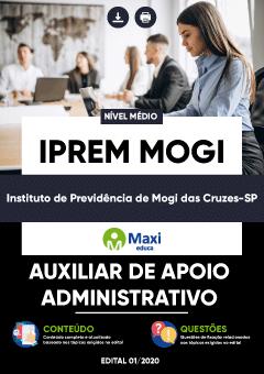 Concurso IPREM Mogi das Cruzes SP 2020