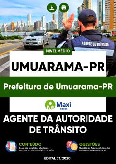 Concurso Prefeitura de Umuarama PR 2020