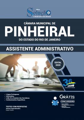 Concurso Câmara de Pinheiral RJ 2020