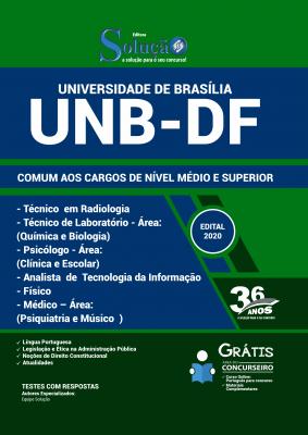 Concurso UNB DF 2020