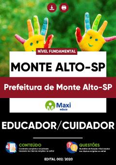 Concurso Prefeitura de Monte Alto SP 2020