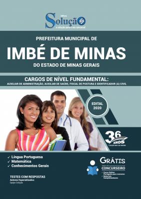 Concurso Prefeitura de Imbé de Minas MG 2020