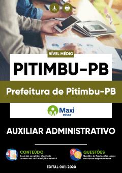 Concurso Prefeitura de Pitimbu PB 2020