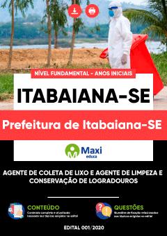 Concurso Prefeitura de Itabaiana SE 2020