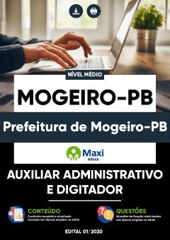 Concurso Prefeitura de Mogeiro PB 2020