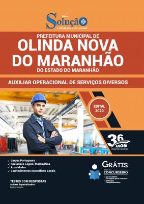 Concurso Prefeitura de Olinda Nova do Maranhão 2020