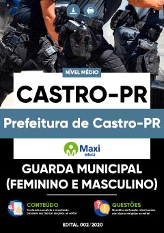 Concurso Prefeitura de Castro PR 2020