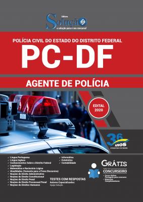 Concurso Polícia Civil DF 2020 PC-DF