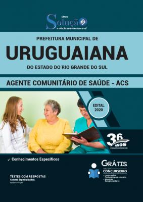 Concurso Prefeitura de Uruguaiana RS 2020