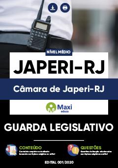 Concurso Câmara de Japeri RJ 2020