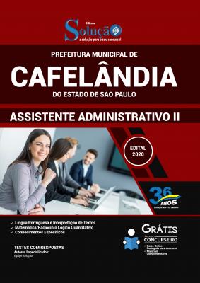 Concurso Prefeitura de Cafelândia SP 2020