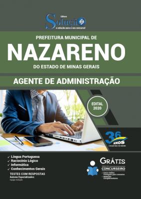 Concurso Prefeitura de Nazareno MG 2020