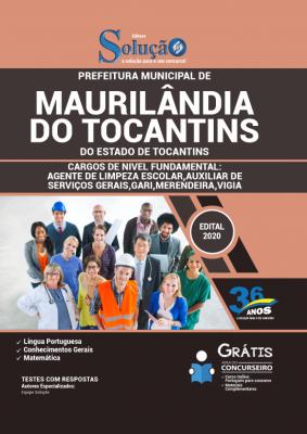 Concurso Maurilândia do Tocantins TO 2020