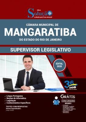 Concurso Câmara de Mangaratiba RJ 2020
