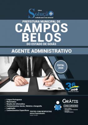 Concurso Prefeitura de Campos Belos GO 2020