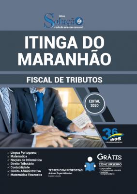 Concurso Prefeitura de Itinga do Maranhão MA 2020