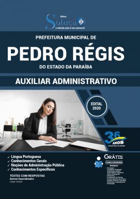Concurso Prefeitura de Pedro Régis PB 2020