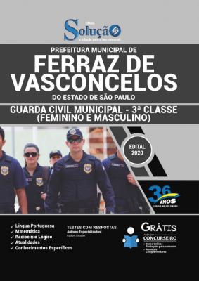 Concurso Prefeitura de Ferraz de Vasconcelos SP 2020