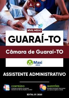 Concurso Câmara de Guaraí TO 2020