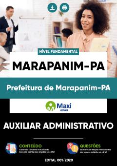 Concurso Prefeitura de Marapanim PA 2020