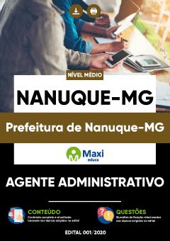 Concurso Prefeitura de Nanuque MG 2020