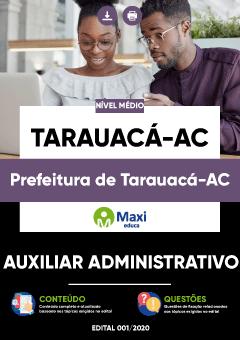 Concurso Prefeitura de Tarauacá AC 2020