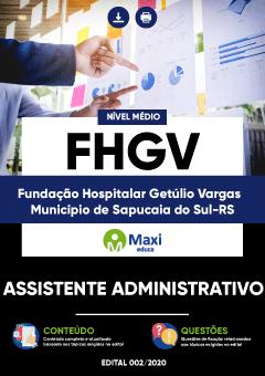 Concurso FHGV Sapucaia do Sul RS 2020