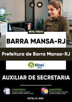 Concurso Prefeitura de Marra Mansa RJ 2020