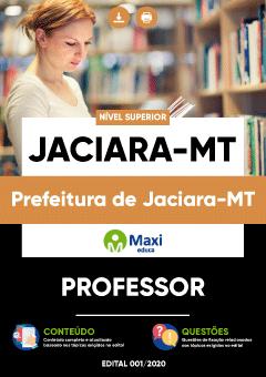 Concurso Prefeitura de Jaciara MT 2020