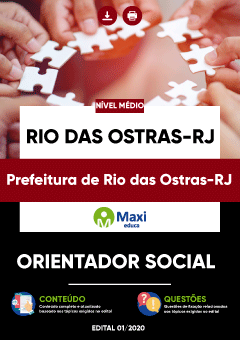 Concurso Prefeitura de Rio das Ostras RJ 2020