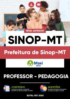 Concurso Prefeitura de Sinop MT 2020