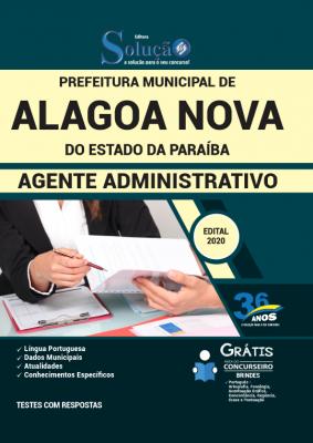 Concurso Prefeitura de Alagoa Nova PB 2020
