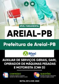 Concurso Prefeitura de Areial PB 2020