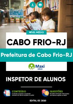 Concurso Prefeitura de Cabo Frio RJ 2020/2021