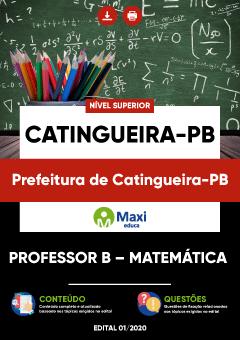 Concurso Prefeitura de Catingueira PB 2020
