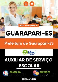 Concurso Prefeitura de Guarapari ES 2020