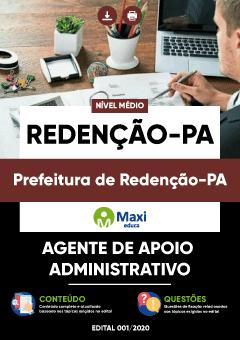 Concurso Prefeitura de Redenção PA 2020