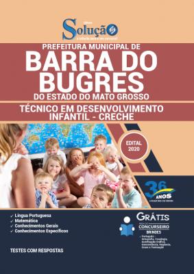 Concurso Prefeitura de Barra do Bugres MT 2020
