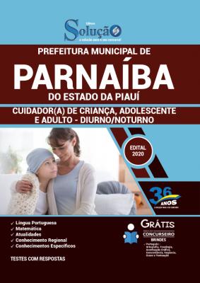 Concurso Prefeitura de Parnaíba PI 2020