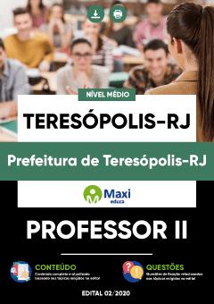 Concurso Prefeitura de Teresópolis RJ 2020