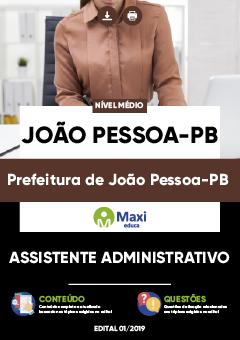 Concurso Prefeitura Municipal de João Pessoa PB 2020/2021
