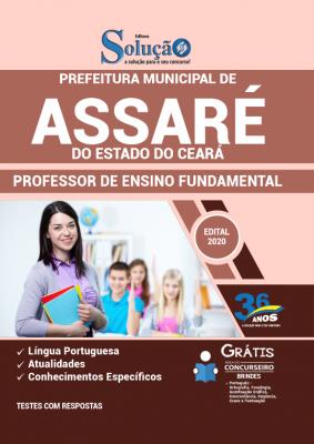 Concurso Prefeitura de Assaré CE 2020