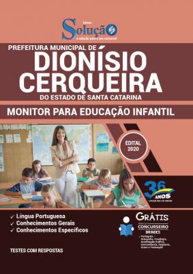 Concurso Prefeitura de Dionísio Cerqueira SC 2020/2021