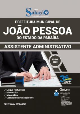 Concurso Prefeitura de João Pessoa PB 2020/2021