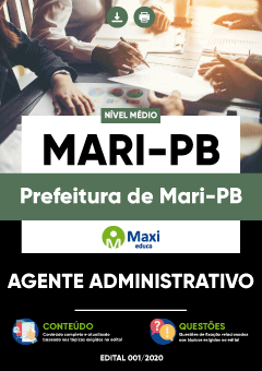 Concurso Prefeitura de Mari PB 2020